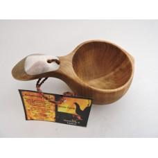 Wooden cup kåsa deluxe